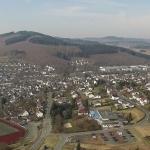 """Das Glanzlicht im Dietzhölztal: Das Freizeitbad """"Panoramablick"""" ist für die beiden Gemeinden Eschenburg und Dietzhölztal eine wichtige Freizeiteinrichtung - und darüber hinaus für die ganze Region. (Foto: Elevenpictures)"""