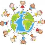 Logo Ferienprogramm Weltkugel